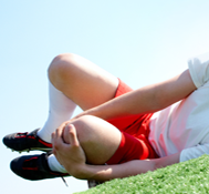 sports knee injuries Image